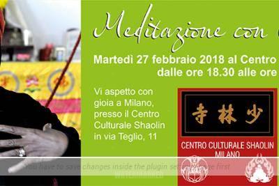 Sessione di Meditazione con Cannelle Martedì 27 Febbraio 2018 – CORPO FISICO: POSTURE & RESPIRAZIONE (2 Parte)