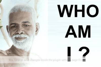 Ramana Maharashi/Chi Sono Io?
