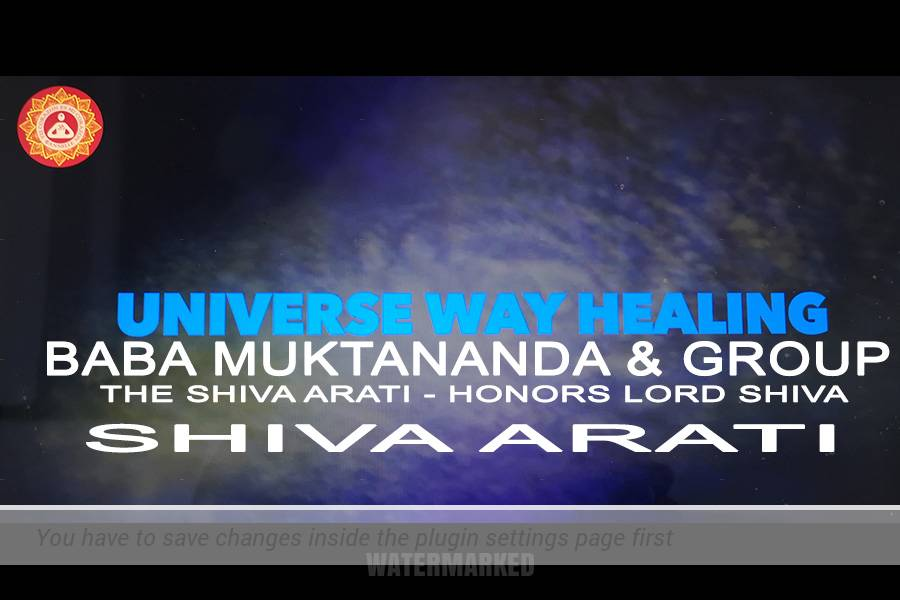 BABA MUKTANANDA & GROUP SHIVA ARATI